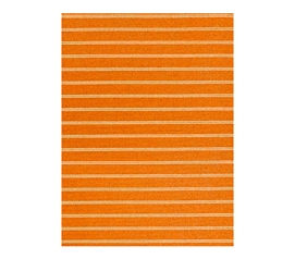 Classic Stripes College Rug - Orange College Supplies Dorm Room Decorations