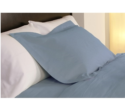 College Dorm Bedding Temperature Regulation Dorm Pillowcases - Light Blue College Supplies