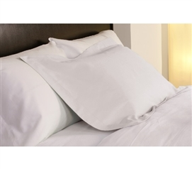 Dorm Essentials Temperature Regulation Dorm Pillowcases - White Bedding for Dorms