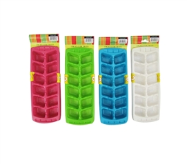 Essential Freezer Supplies - 3PK Ice Cube Trays (4 Colors Available) - Keep Beverages Cold