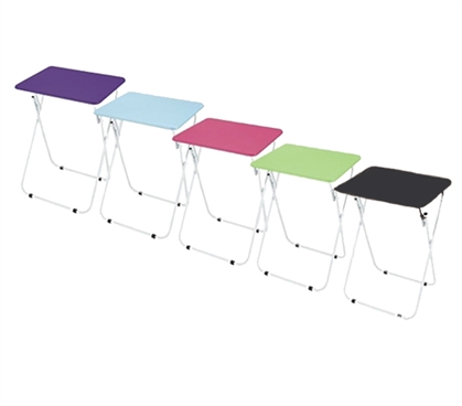 Extra Flat Space - Foldable Dorm Eating Table - Cool Dorm Furniture
