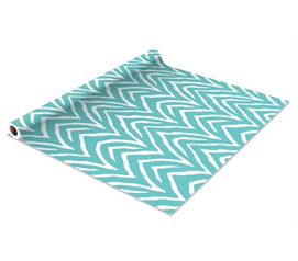 Line Shelves To Protect - Self Adhesive Shelf Liner - Cancun Zebra - Awesome Dorm Decor