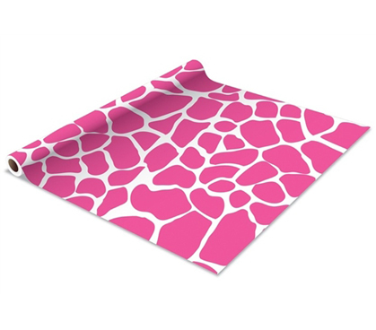 Self Adhesive Shelf Liner True Pink Giraffe Dorm Decor