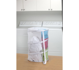 Dual Compartment Hamper College laundry basket