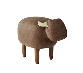 Essential Dorm Room Animal Seating Stool Unique Marco Brown Cow Animal College Decor