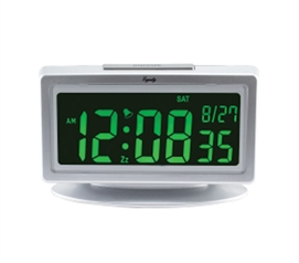 Color Change LCD Alarm Clock