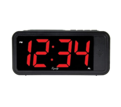 Quick Set Dorm Alarm Clock with Keyboard