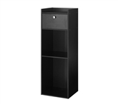 Yak About It Extra Tall Nightstand - Black