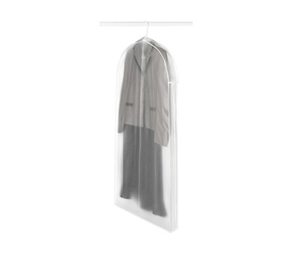 Keep Dresses Clean And Dust Free - Hanging Dress Protector Bag - College Essential For Nicer Clothes