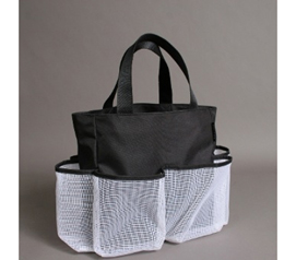 Carry Your College Stuff - Neo Carry All - Black - Makes A Great Shower Tote