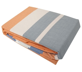 Cozy Stripes Twin XL Sheet Set