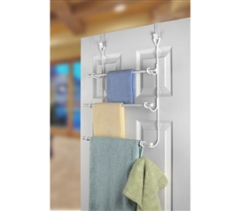 Three racks for your towel, wash cloth & hand towel!