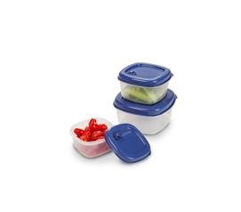 Food Storage Containers - 3 Pack (Available in 3 Colors) - Great For Leftovers