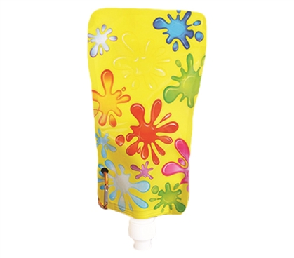 Foldable College Water Bottle - Yellow Dorm Essentials