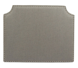The Powered College Headboard - Light Grey Dorm Room Decor Dorm Essentials Dorm Room Decorating Ideas