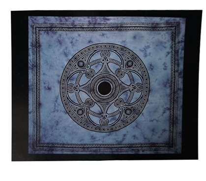 Celtic Blue Tapestry Dorm Room Decorations College Wall Decor
