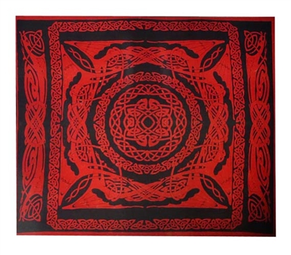 Scarlet Tapestry Wall Decorations for Dorms Dorm Essentials