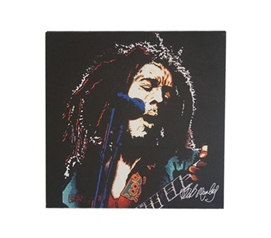 Bob Marley Guitar Wall Canvas College Wall Decor