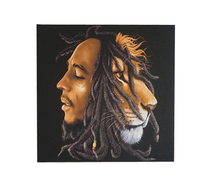 Bob Marley Lion Wall Canvas College Wall Decor Dorm Room Decorations