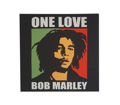 Bob Marley One Love Wall Canvas College Wall Decor Dorm Room Decor