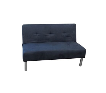 College Mini-Futon - Navy