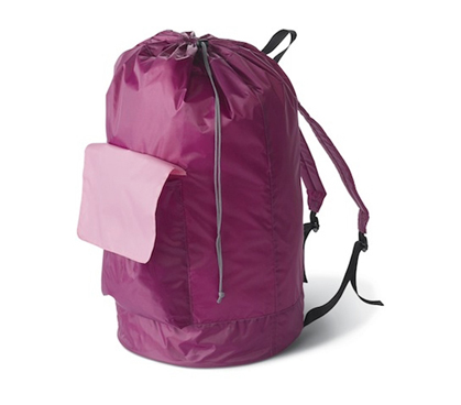 Pink Laundry Backpack Cheap dorm stuff