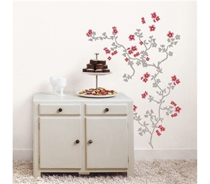 Sweet Vines - Dorm Room Wall Decor Peel N Stick Essential Dorm Decor