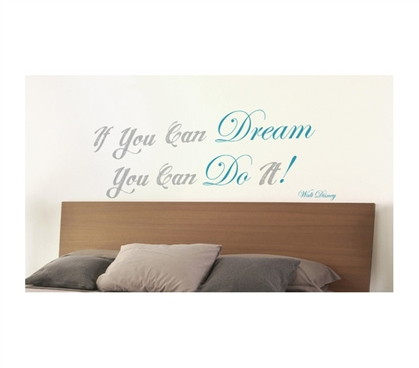 Essential Dorm Decorations - Daydream Wall Art - Peel N Stick - College Decorations