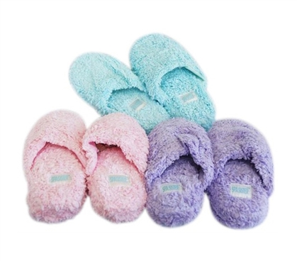 Soft N Shaggy College Dorm Room Slippers - Comfortable Dorm Bathroom Necessity