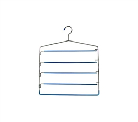 Gel 5-Tier Swing Arm Pants Hanger Dorm closet organizer