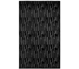 A Rug for Every Purpose - Allusion College Rug - Black