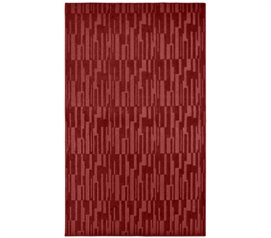 Live Passionately - Allusion College Rug - Chili Red