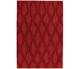 Continuum College Rug - Chili Red Dorm Essentials Dorm Area Rugs