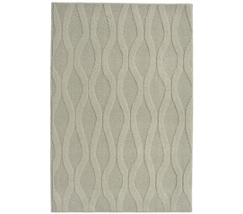A Perfect Match to Your Dorm Essentials - Continuum College Rug - Silver