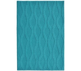 Brighten Up Your Dorm Room - Continuum College Rug - Teal