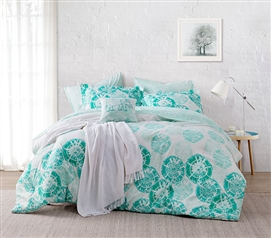 Calico Mint Twin XL Comforter Twin XL College Comforter Must Have Dorm Items Dorm Room Decor