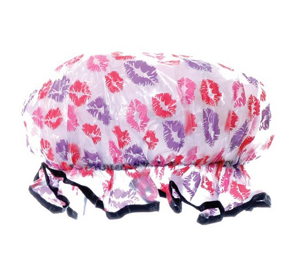 Keeps College Girl Hair Dry - Stylish Shower Parlor Cap