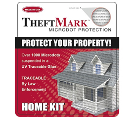Theft Mark Microdot Protection - Discreetly Mark Your College Valuables