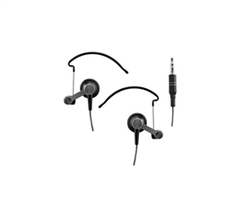 Stay Fit And Listen To Music - Runner's Sport Hooks Noise Reduction Earbuds - Great For Music Lovers