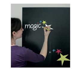 "Fun Dorm Decoration - Magic Blackboard Sheets - 24"" x 32"" Great Dorm Accessory"
