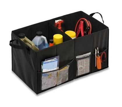 Folding Compartment Organizer - Black