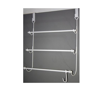 3-Tier Over the Door Towel Rack for College Students