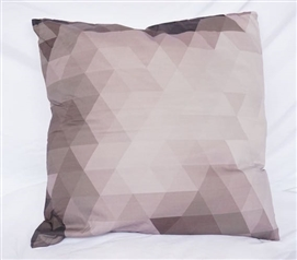 Pixelated - Alloy - Cotton Throw Pillow