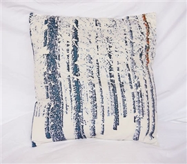 Winter Forest - Cotton Throw Pillow