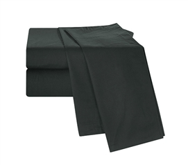 Chino Black Twin XL Sheet Set Dorm Essentials Dorm Bedding Twin XL Bedding Extra Long Twin Bedding