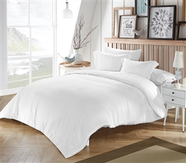 White Bamboo Modal Twin XL College Comforter Extra Long Twin Comforter Dorm Essentials