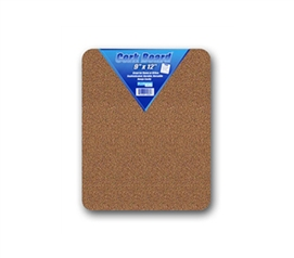 "Display Photos And More - 9"" x 12"" Standard College Corkboard - Fun Dorm Decorating Ideas"