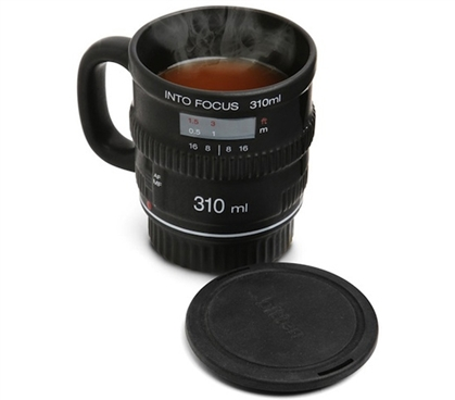 Super Cool Look - Into Focus - Coffee Mug - Keep Coffee Warm