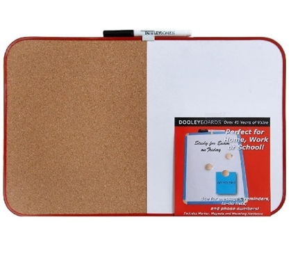 "Fun Dorm Supply - Combo cork / dry erase - 11"" x 17"" - Dorm Shopping Essentials"