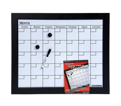 Dorm Wall Calendar Dry Erase Dorm decor